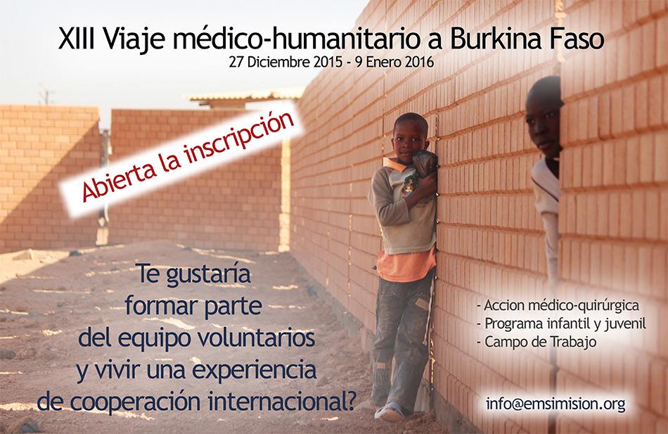 XIII Viaje mèdico-humanitario a Burkina Faso